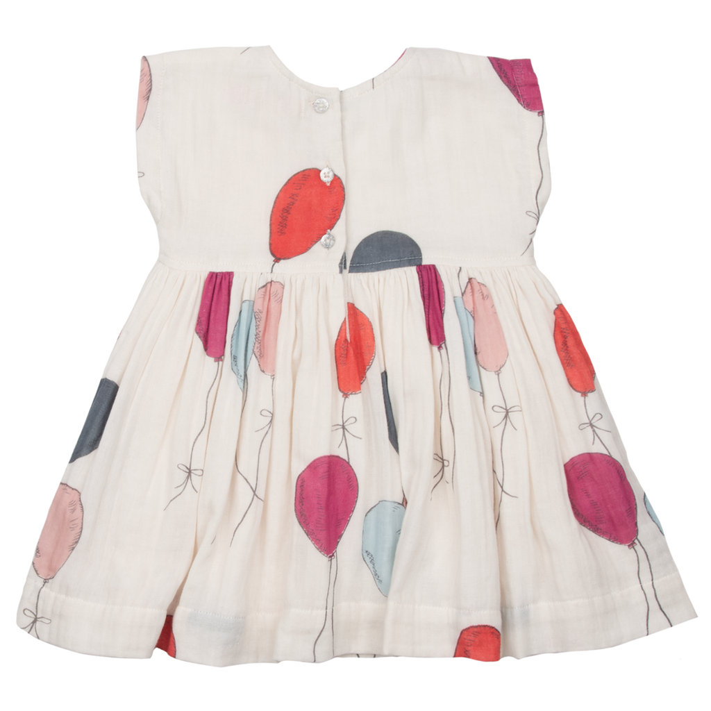 Adaline Dress - Multi Colored Balloons