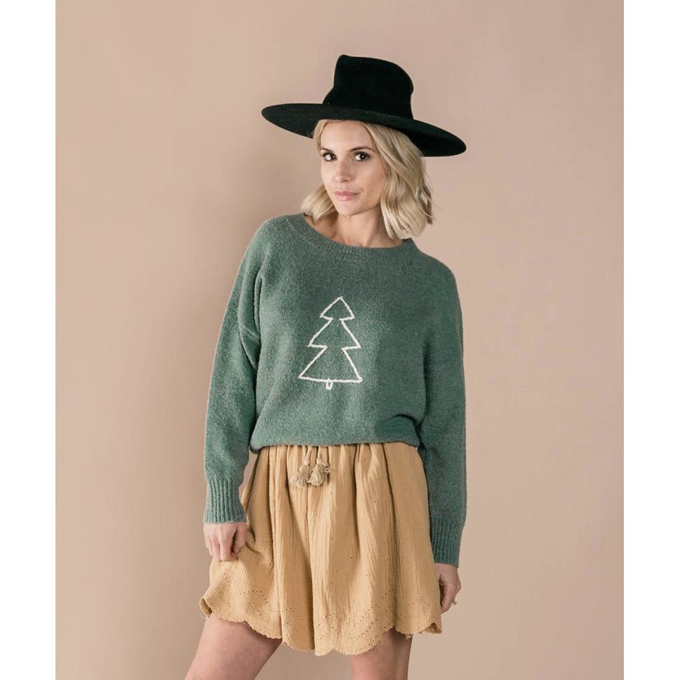 Cassidy Sweater (Adult) - Tree