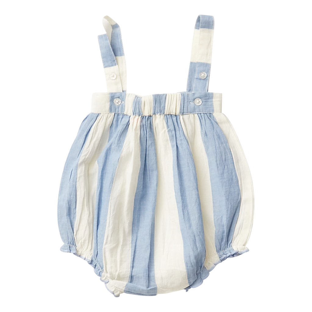 Angeline Bubble - Riviera/Antique White Stripe