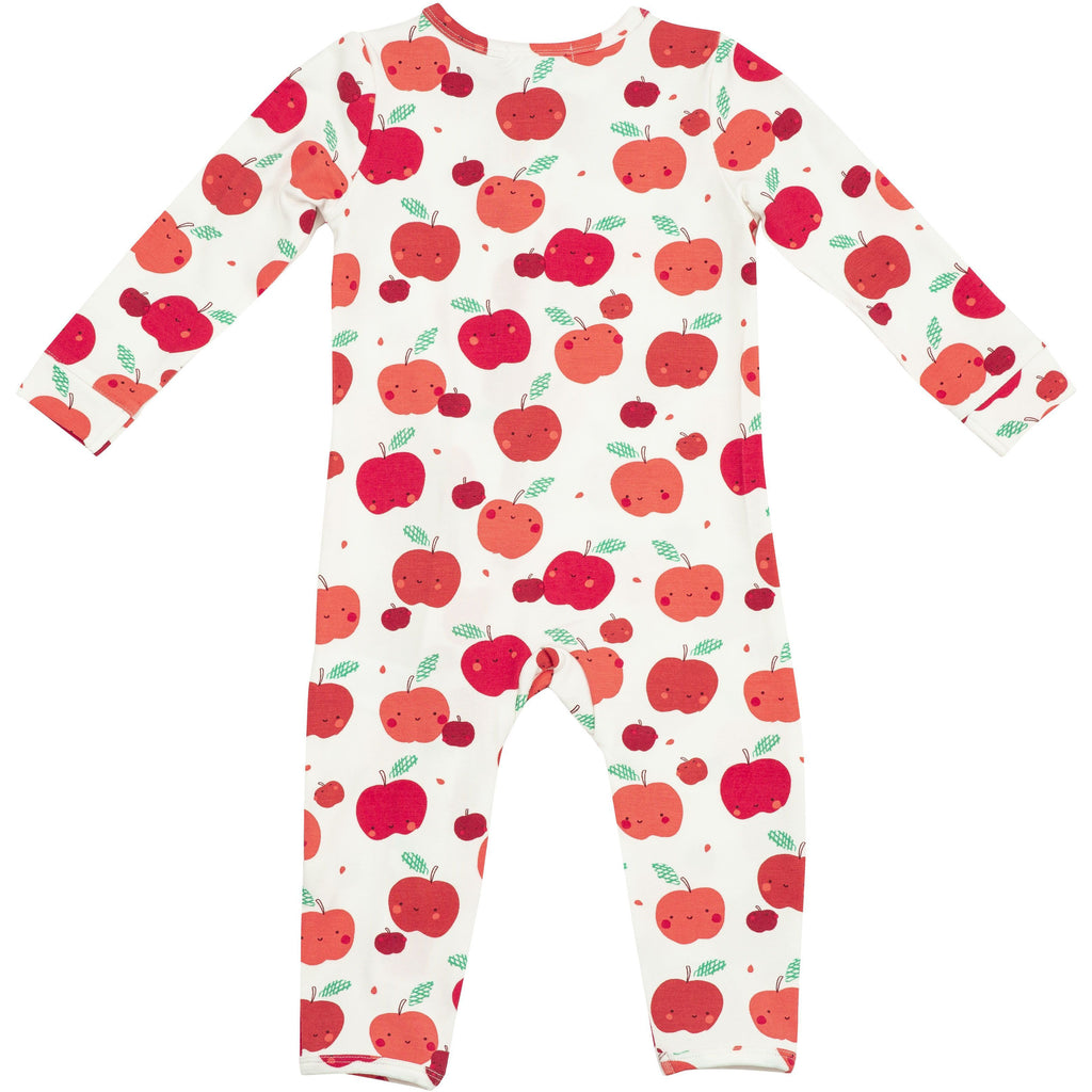 Zipper Romper - Apple Orchard
