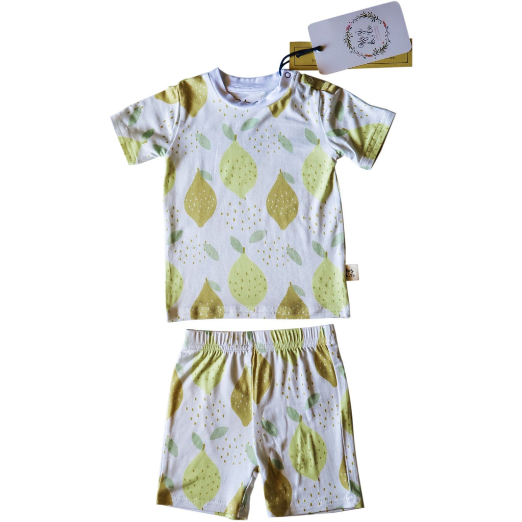 Short Sleeve Set - Lemon Love