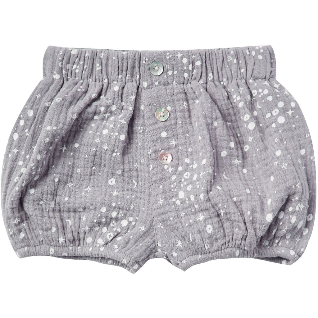 Button Shorts - Moondust
