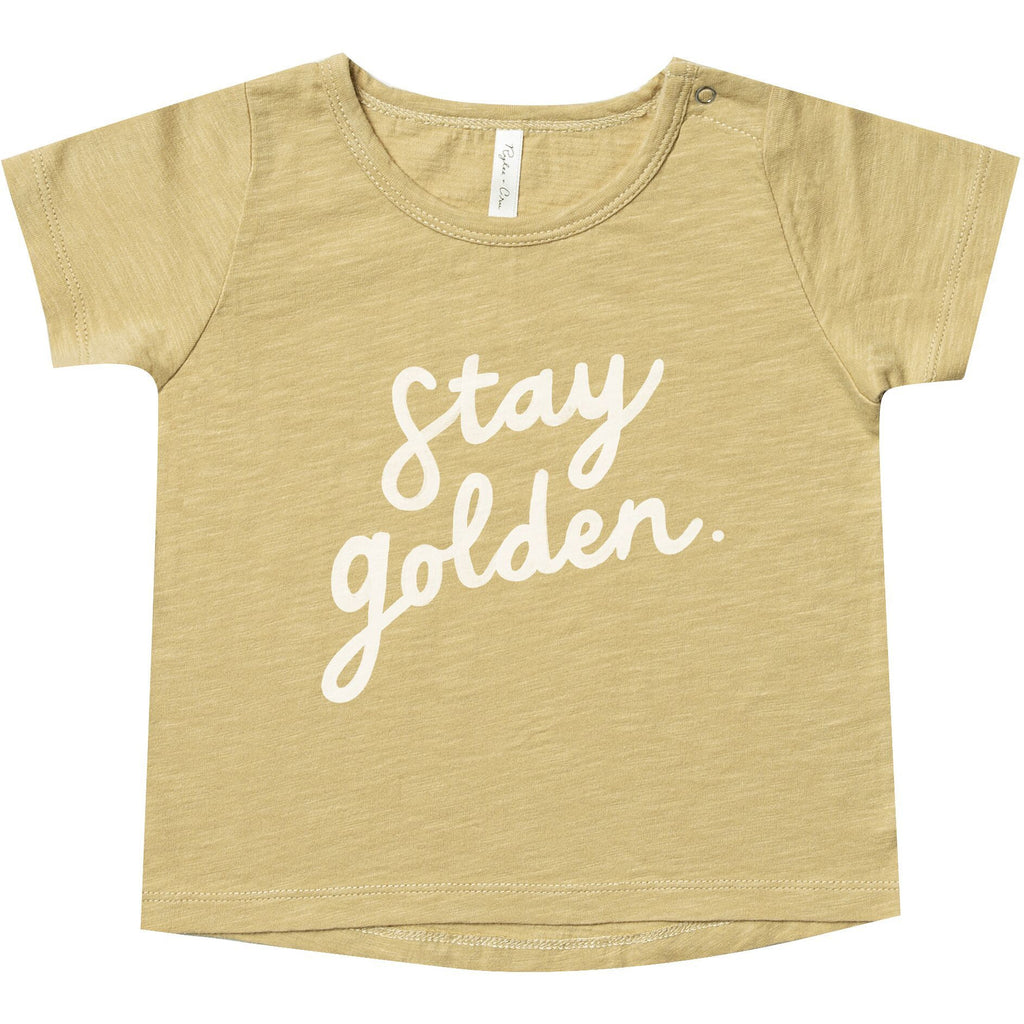 Basic Tee - Stay Golden