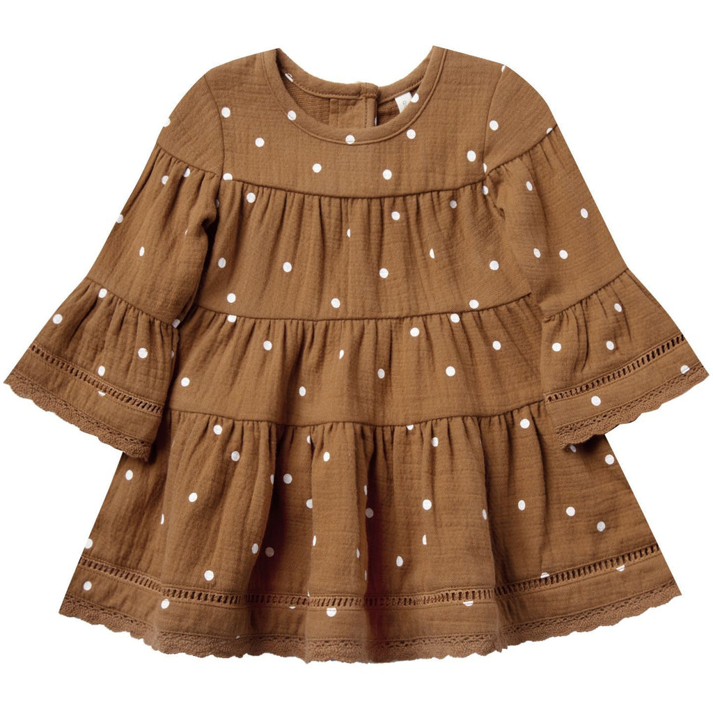 Bella Dress - Walnut