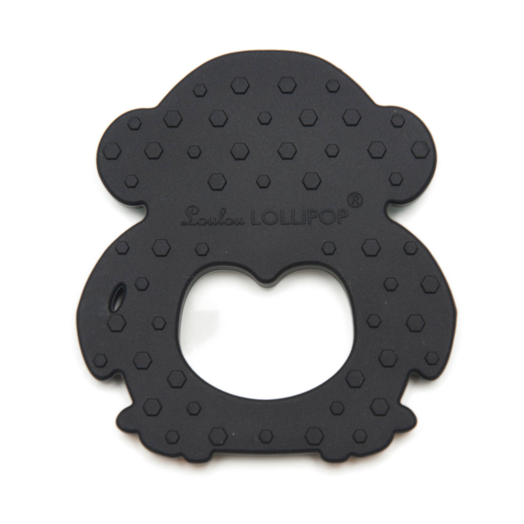 Silicone Teether - Black Penguin