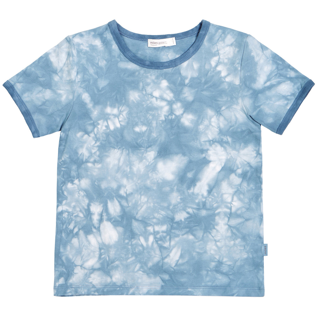 T-Shirt - Blue/Grey Tie-Dye