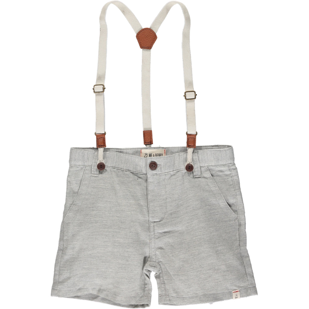 Captain Shorts (with suspenders) - Grey