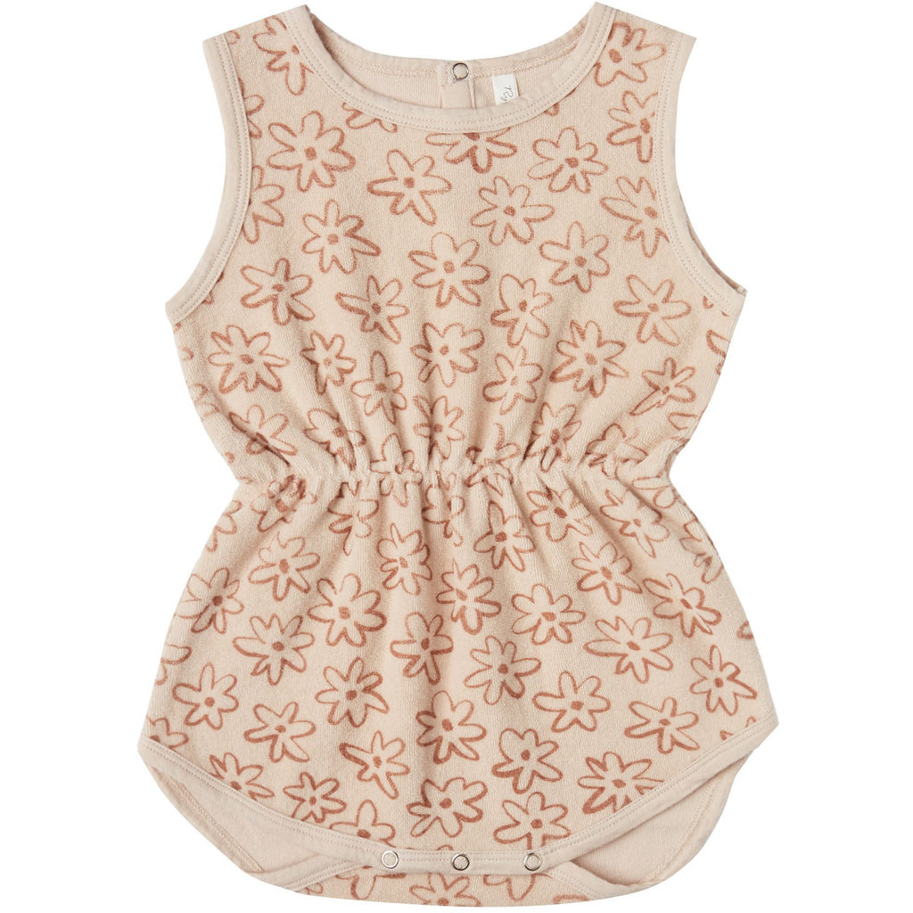 Cinch Playsuit - Flower Power