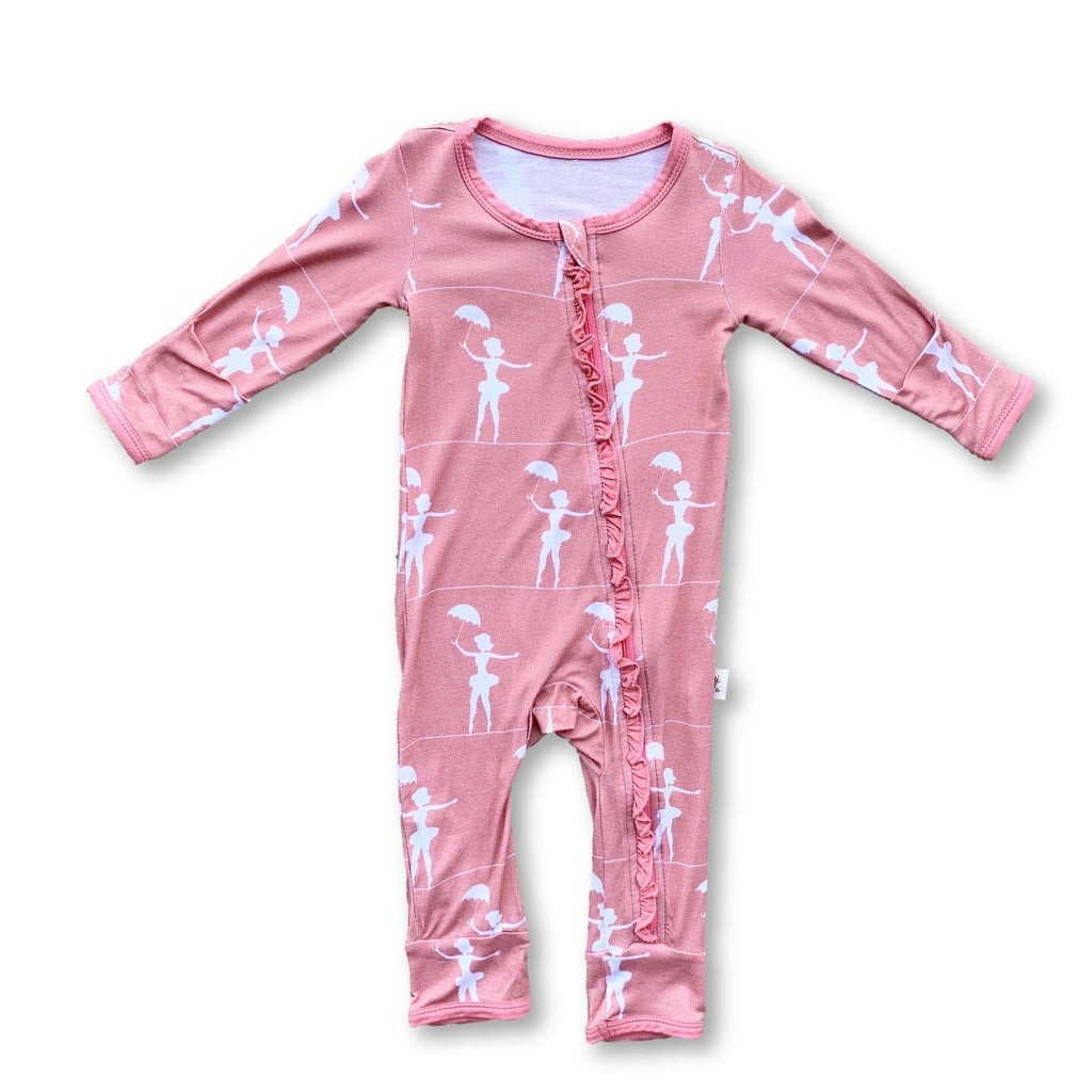 Coveralls - Tightrope Ruffle
