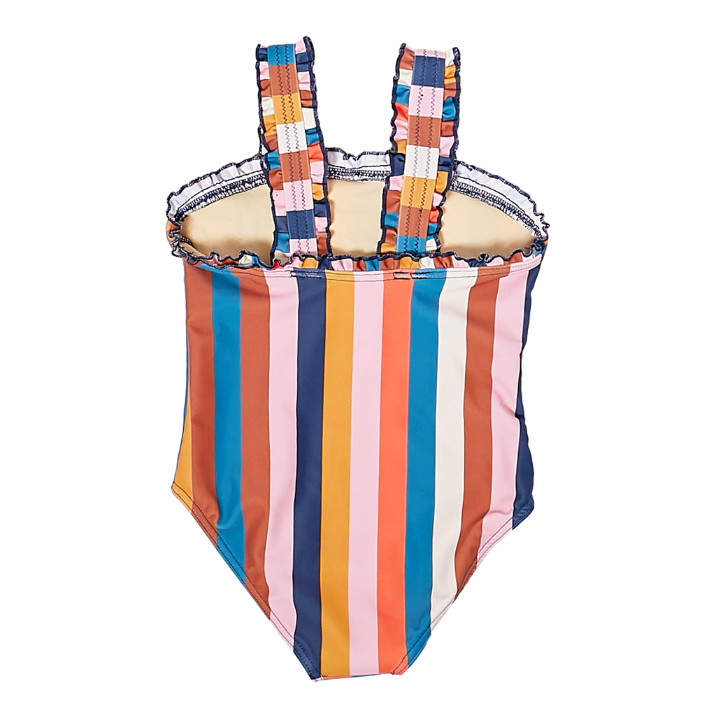 Emma Swimsuit - Multi-Stripe