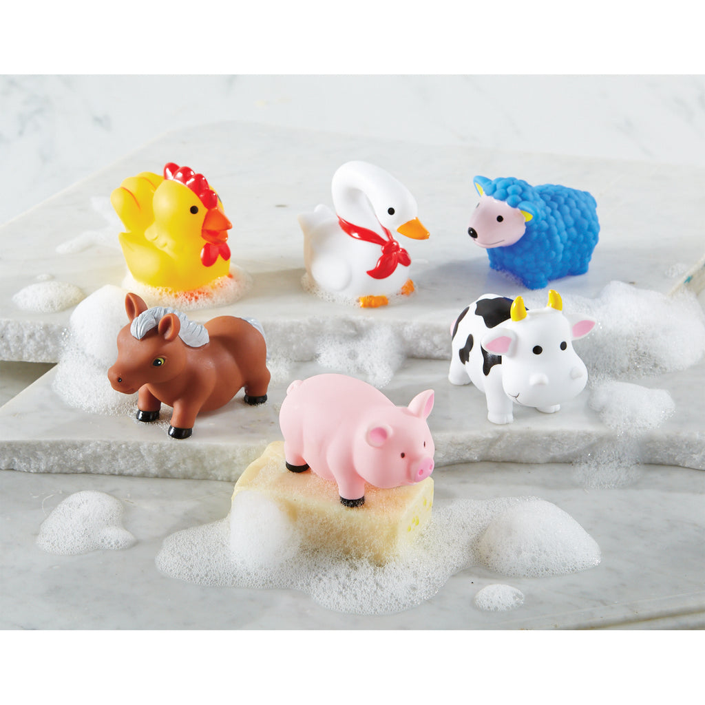 Bath Toys - Farm Animals