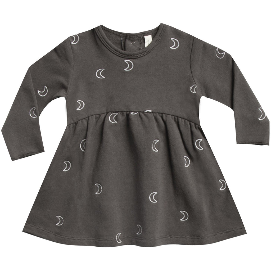 Fleece Dress - Coal