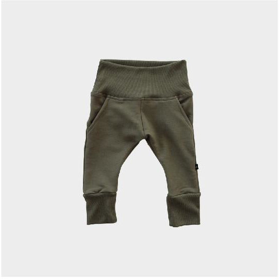 Fleece Sweatpants - Olive