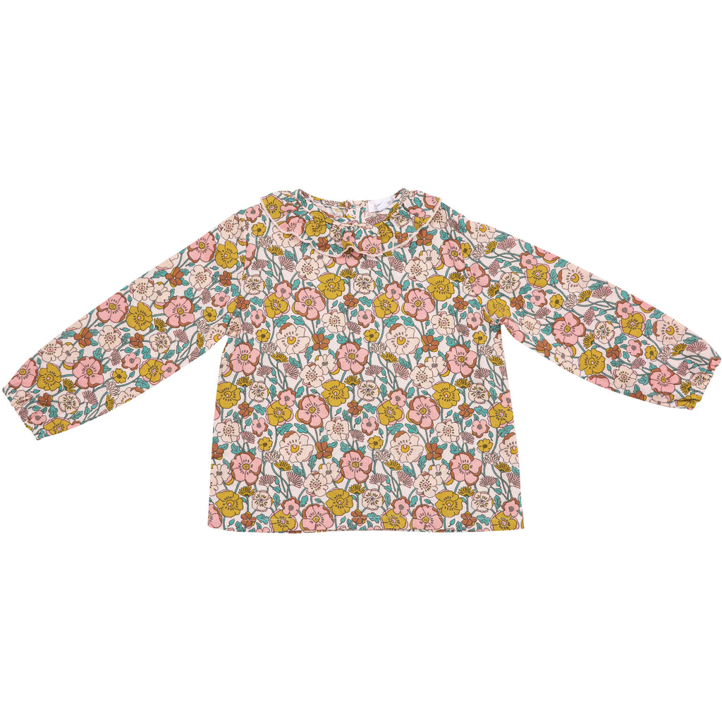 Blouse - Flower Child Pink Multi