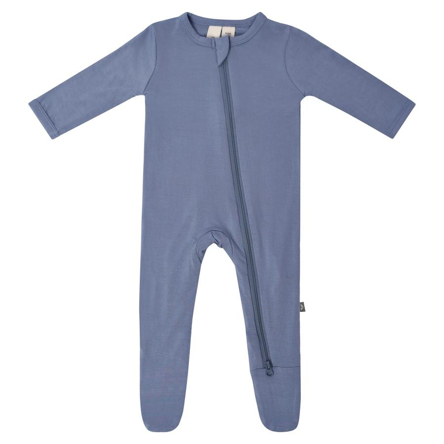 Zippered Footie PJ - Slate