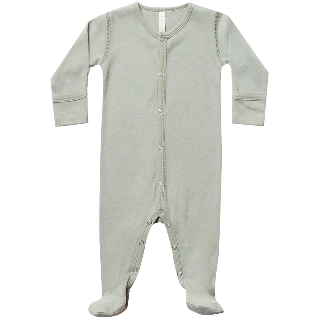 Full Snap Footie PJ - Sage