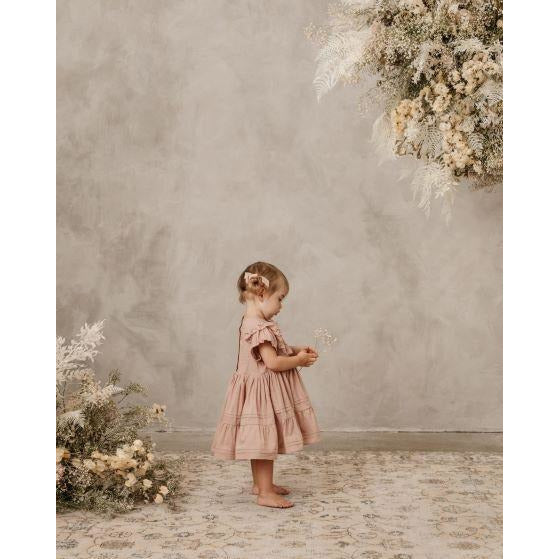 Goldie Dress - Dusty Rose