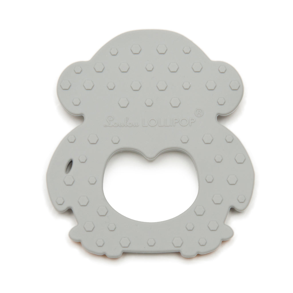 Silicone Teether - Gray Penguin