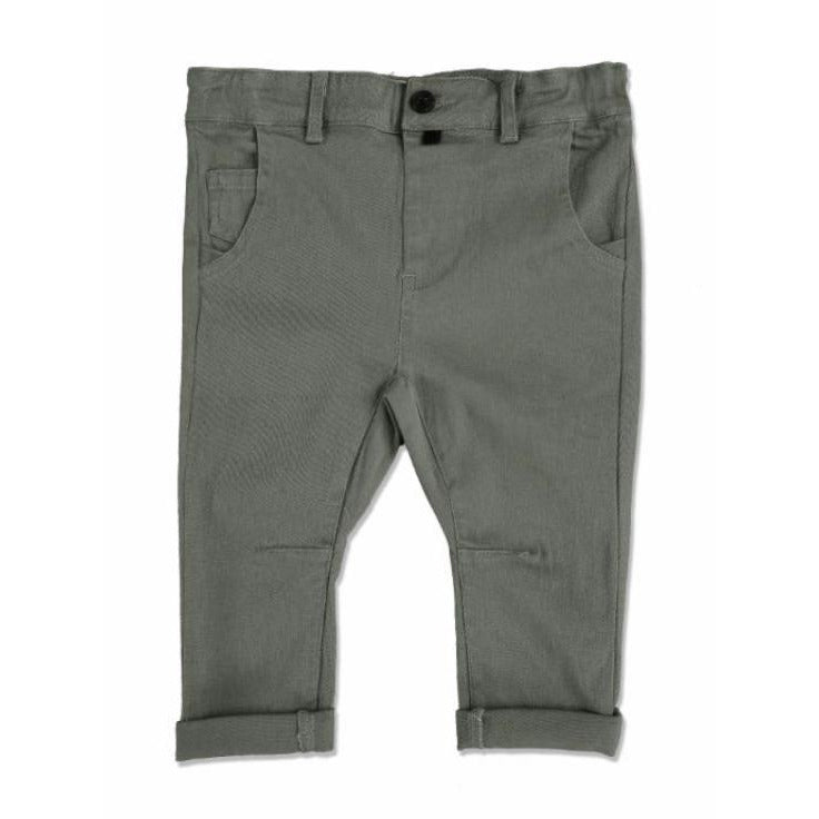 Baby Trousers - Olive