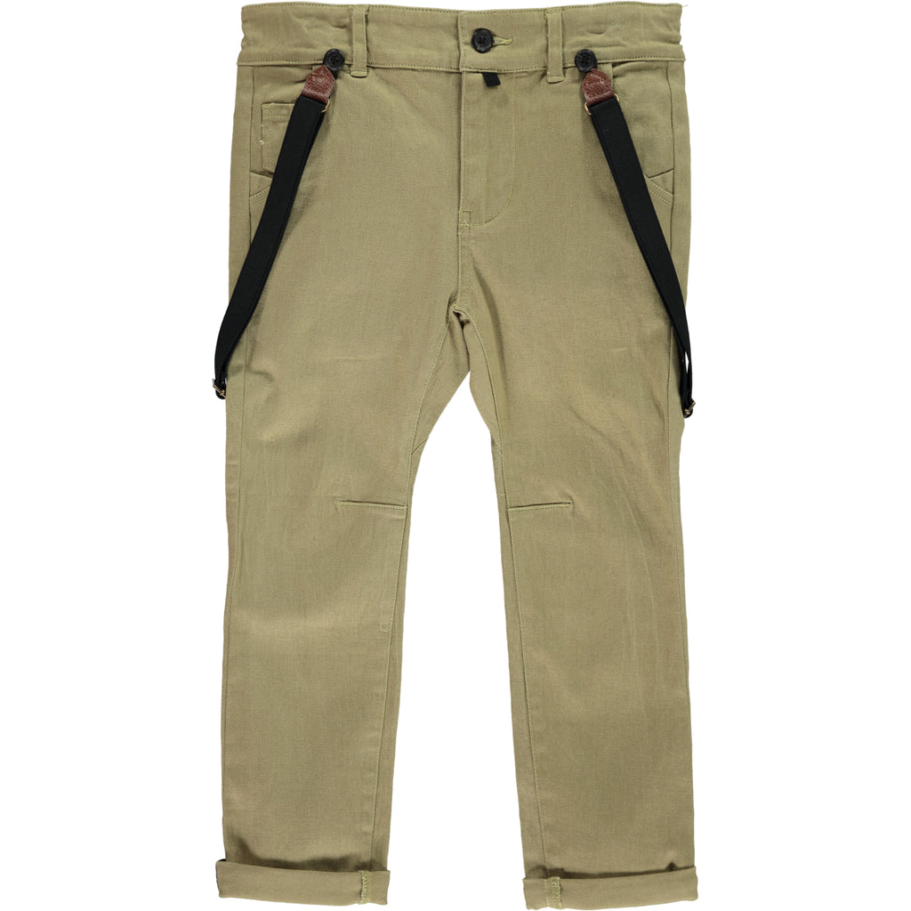 Trousers -Olive