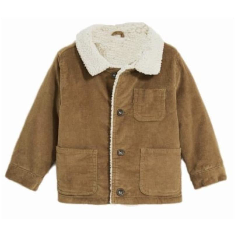 Coat - Brown Cord
