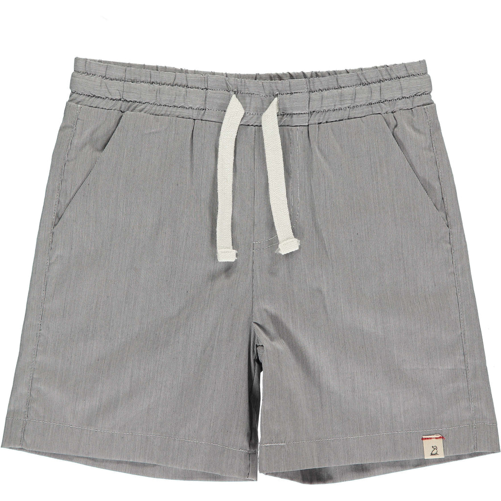 Swim Trunks - Gray Micro Stripe