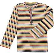 Rib Tee - Bright Multi Stripe