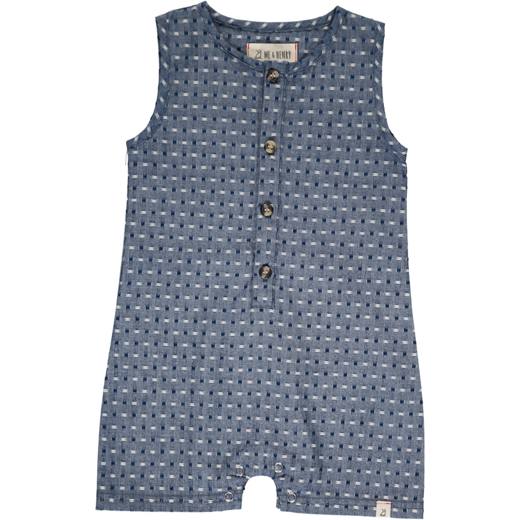 Sandy Playsuit - Pulled Chambray