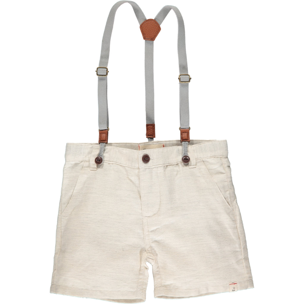 Captain Shorts (with suspenders) - Stone