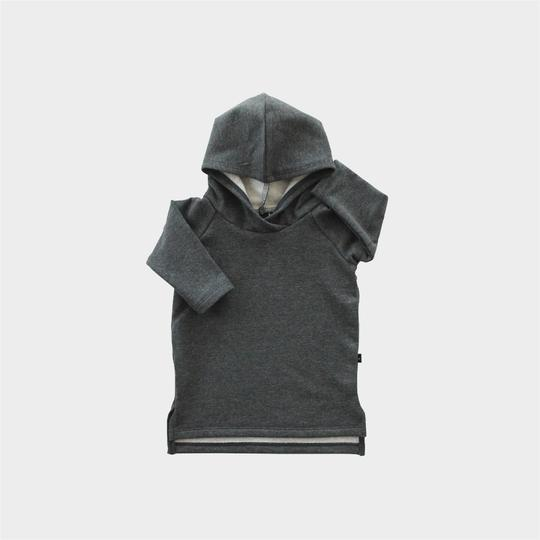 Hoodie Dress - Graphite Heather