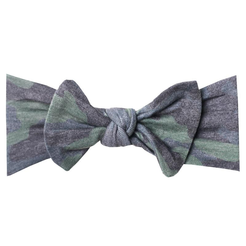 Headband Bow - Hunter