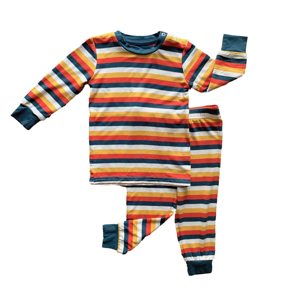 Long Sleeve Set - Sundance Stripe