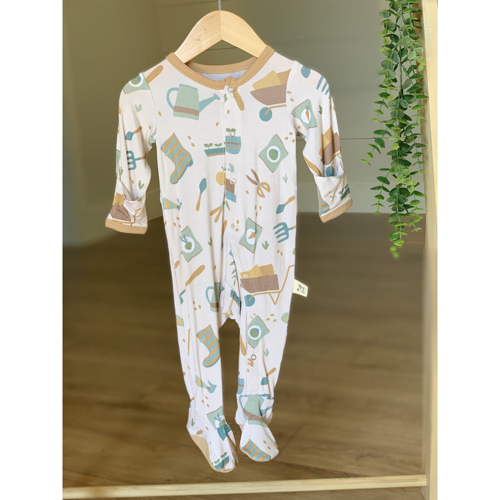 Footie Pajamas - Grasshopper Tools