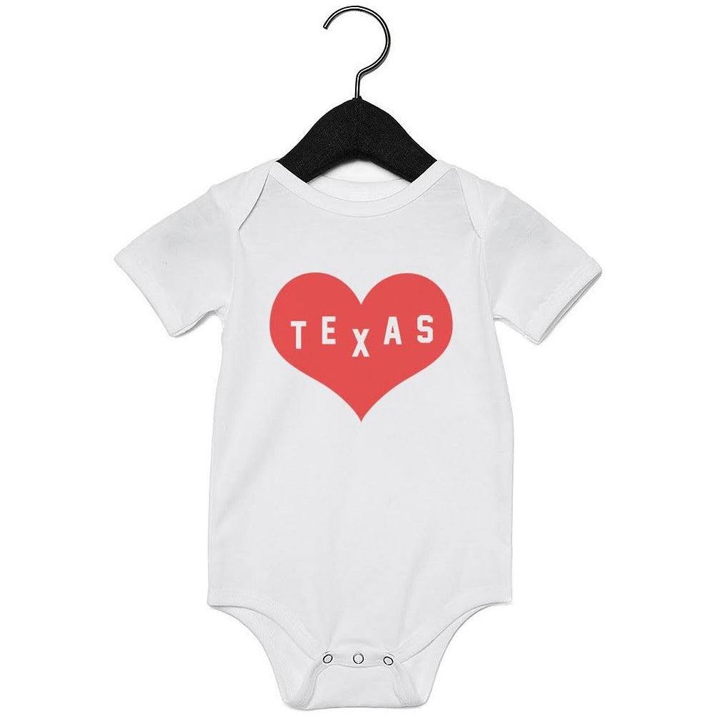 Onesie - I Heart Texas