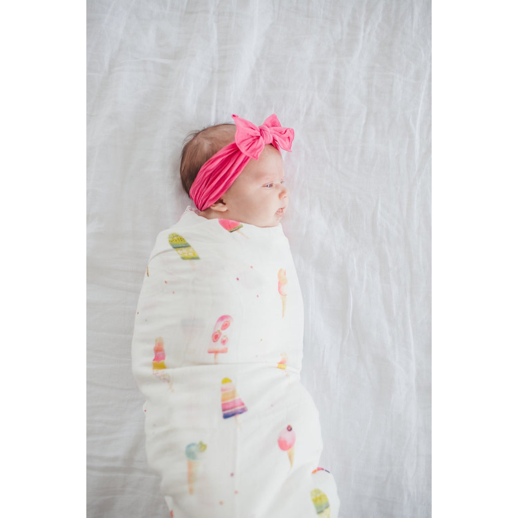 Muslin Swaddle - Ice Cream Social
