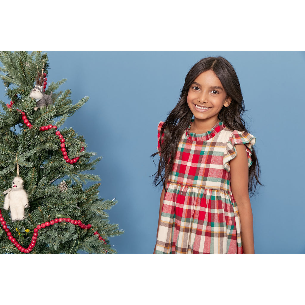 Jennifer Dress - Holiday Tartan