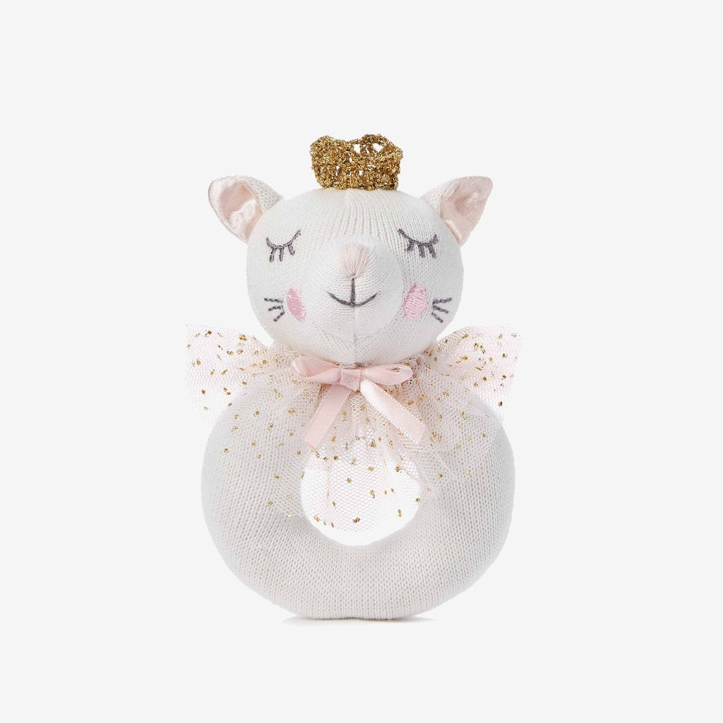 Ring Rattle - Kitty