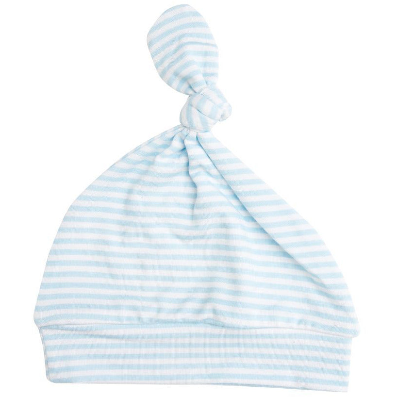Knotted Hat - Puppy Play Blue