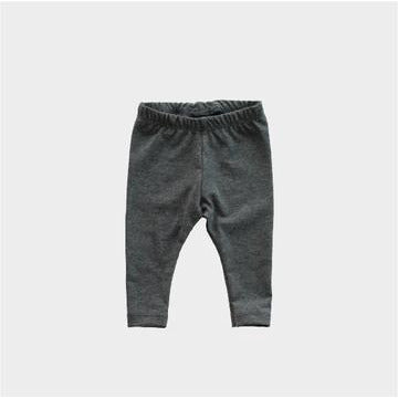 Basic Leggings - Graphite Heather