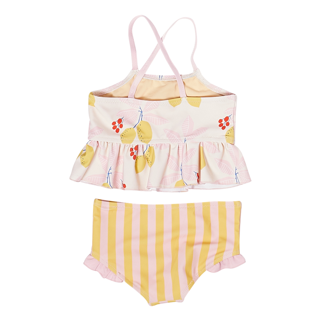 Joy Tankini - Antique White Lemons