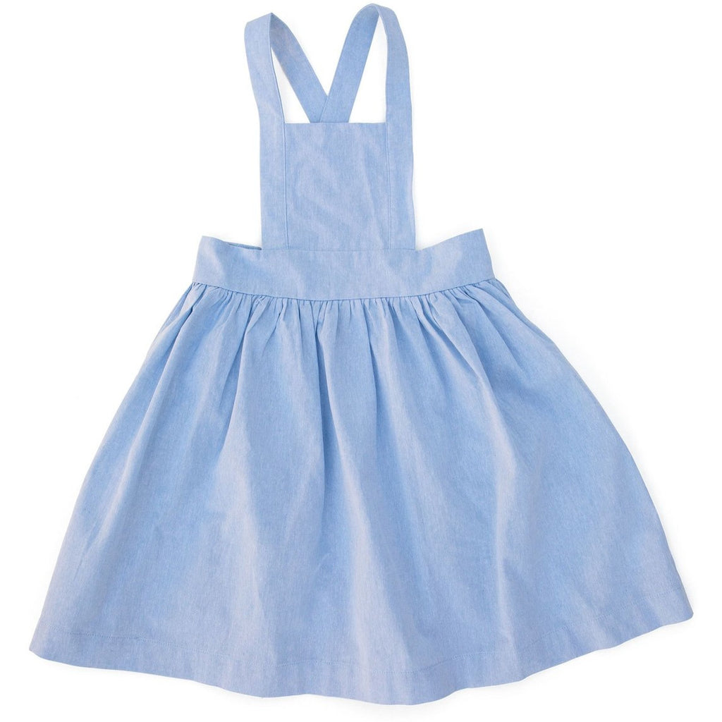 Apron Pinafore - Light Chambray