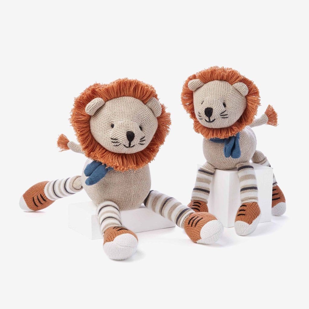 "15"" Baby Knit Doll - Leo Lion"