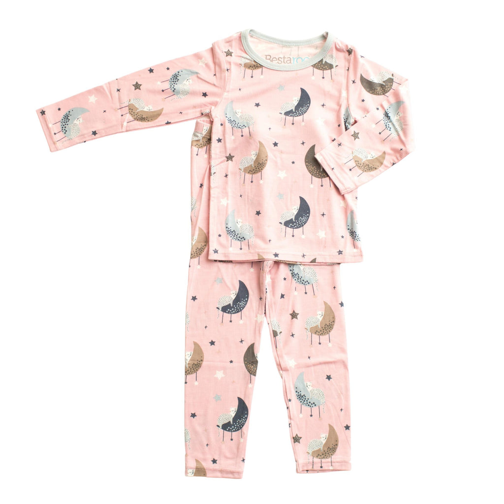 Two Piece Pajama Set - Napping Cats