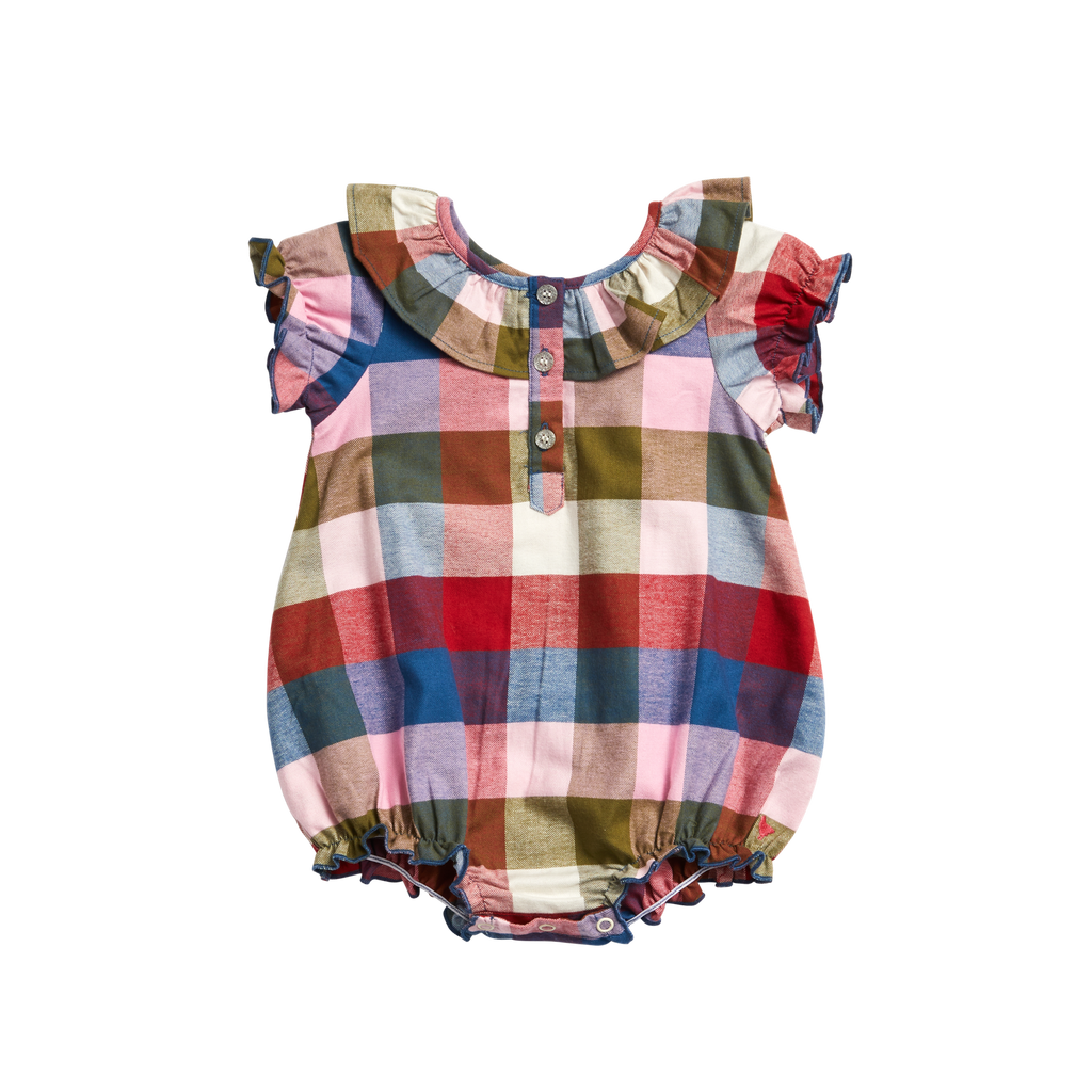Maggie Bubble - Multi Gingham