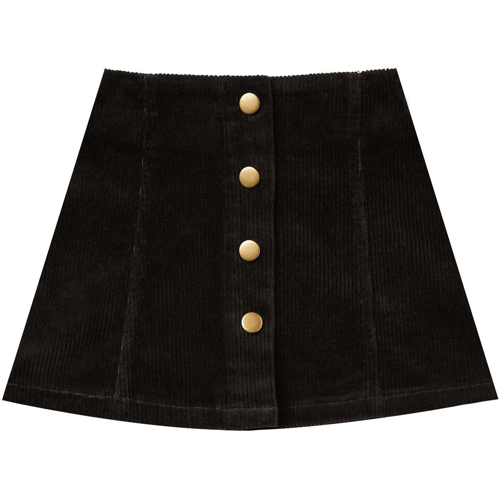 Mini Skirt - Vintage Black