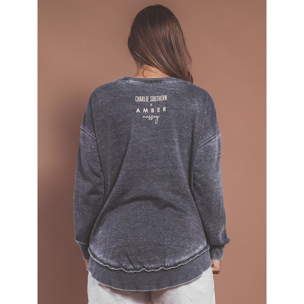 Mom Sweatshirt - Grey