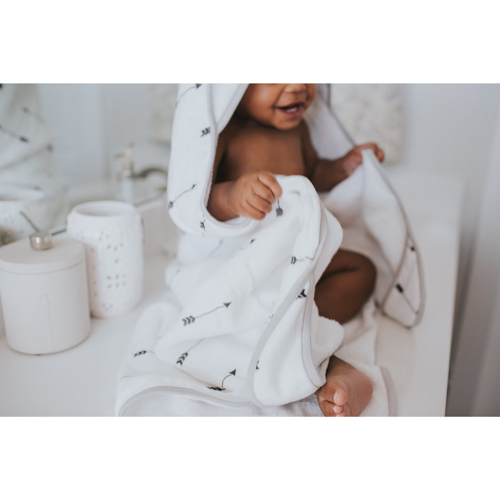 Muslin Hooded Towel - Native