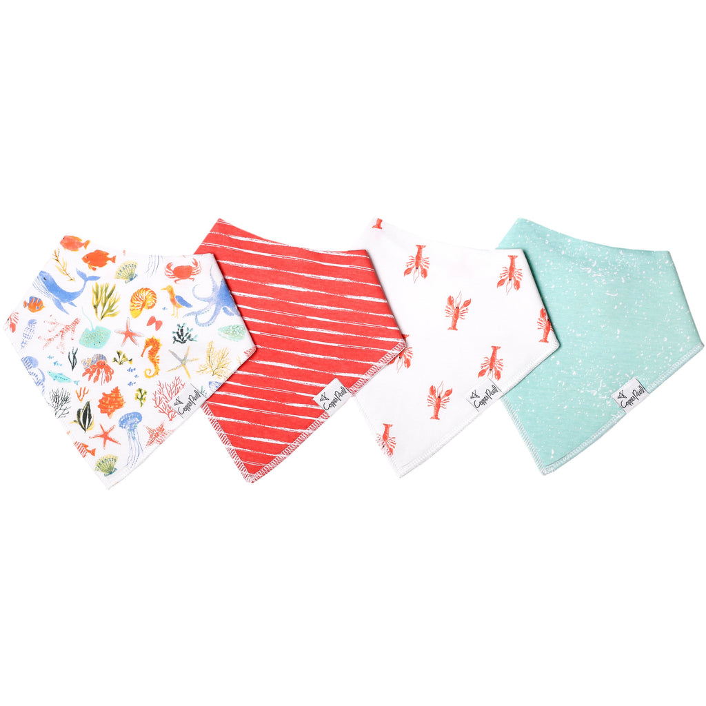 Baby Bandana Bib Set - Nautical