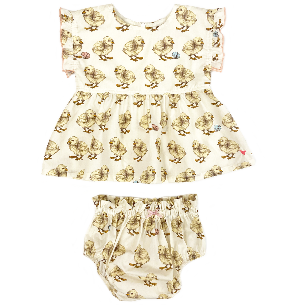 Niley 2-Piece Set - Baby Chicks