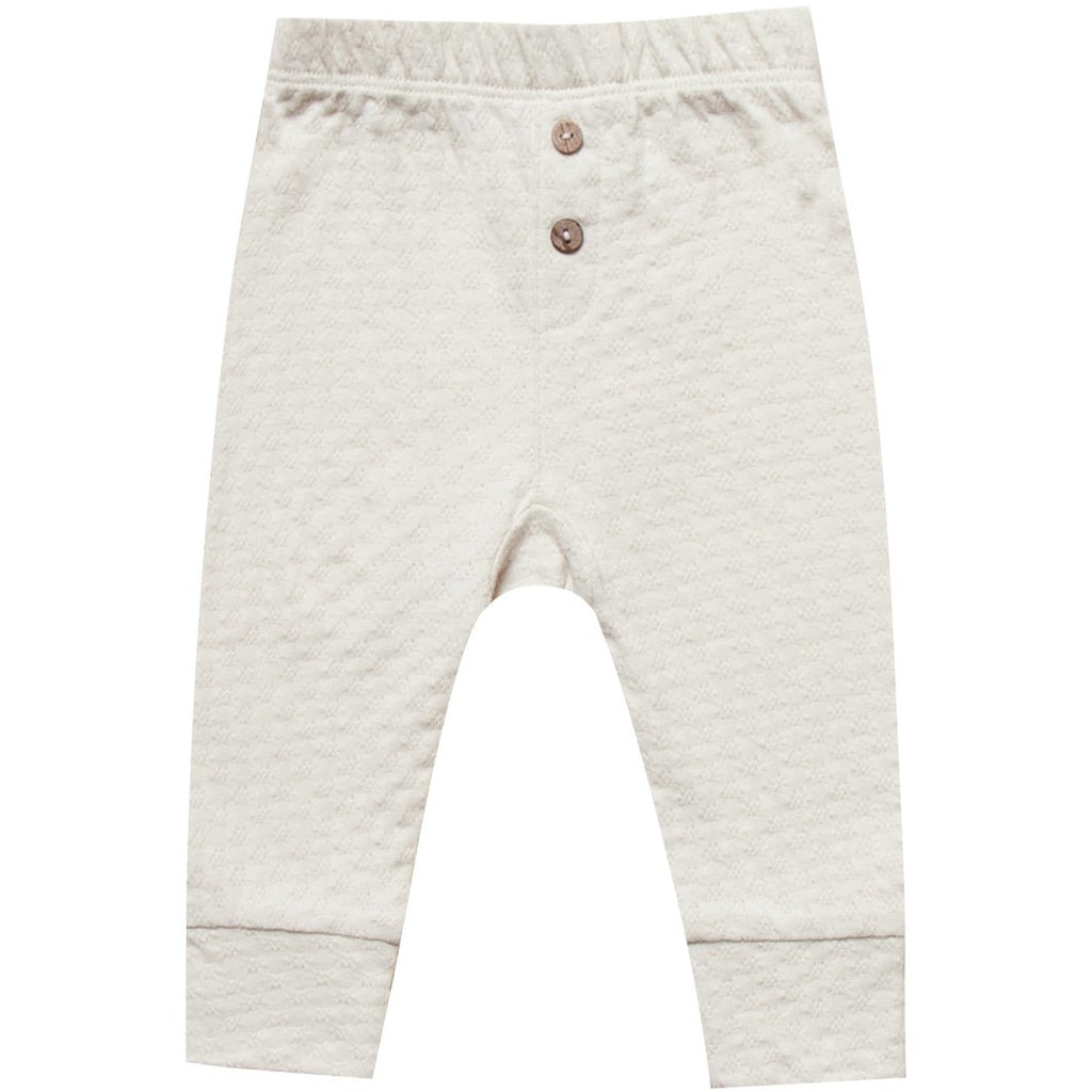 Pointelle Pajama Pant - Pebble